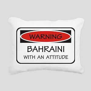 Attitude Bahraini Rectangular Canvas Pillow