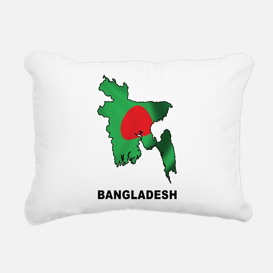 Bangladesh Rectangular Canvas Pillow