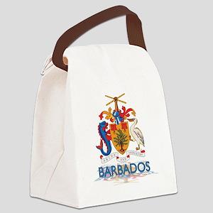3D Barbados Canvas Lunch Bag
