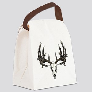 Big whitetail buck Canvas Lunch Bag