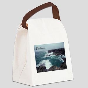 Barbados Canvas Lunch Bag