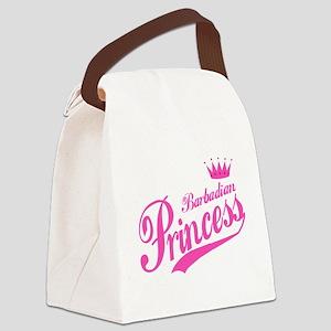 Barbadian Princess Canvas Lunch Bag