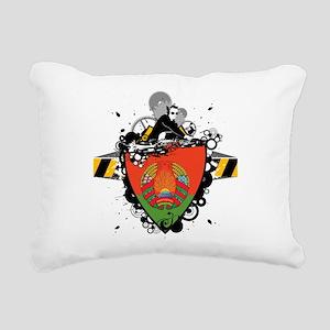 Hip Belarus Rectangular Canvas Pillow