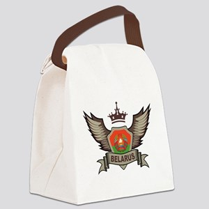 Belarus Emblem Canvas Lunch Bag