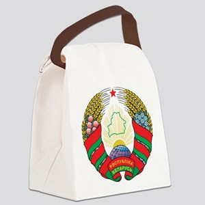Belarus Coat Of Arms Canvas Lunch Bag