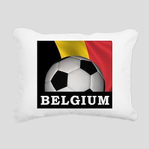 World Cup Belgium Rectangular Canvas Pillow
