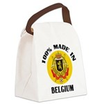 100% Made In Belgium Canvas Lunch Bag