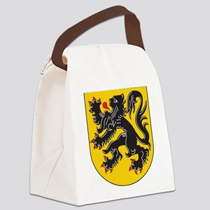 Flanders Coat Of Arms Canvas Lunch Bag