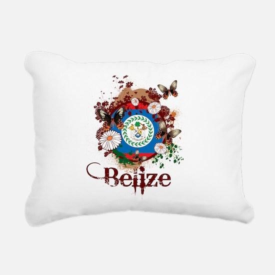 Butterfly Belize Rectangular Canvas Pillow
