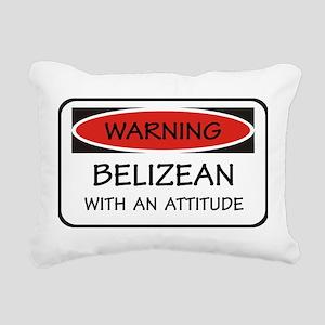 Attitude Belizean Rectangular Canvas Pillow
