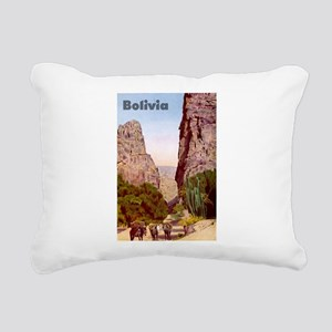 Bolivia Rectangular Canvas Pillow