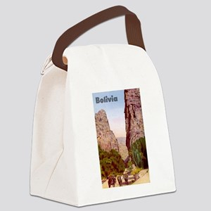 Bolivia Canvas Lunch Bag