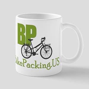 Bikepacking.US green Mug