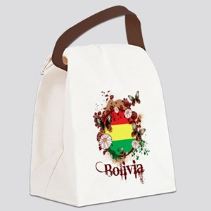 Butterfly Bolivia Canvas Lunch Bag