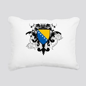 Stylish Bosnia Rectangular Canvas Pillow
