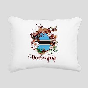Butterfly Botswana Rectangular Canvas Pillow