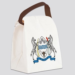 Botswana Coat Of Arms Canvas Lunch Bag