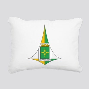 Brasilia Coat Of Arms Rectangular Canvas Pillow