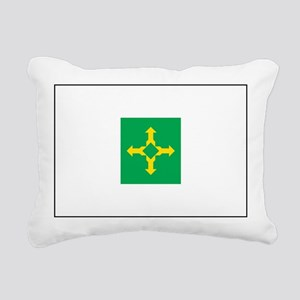 Brasilia Flag Rectangular Canvas Pillow