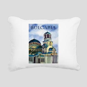 Bulgaria Rectangular Canvas Pillow