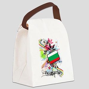 Flower Bulgaria Canvas Lunch Bag