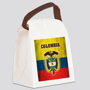 Vintage Colombia Canvas Lunch Bag