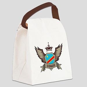 Congo Emblem Canvas Lunch Bag