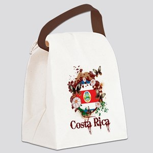 Butterfly Costa Rica Canvas Lunch Bag