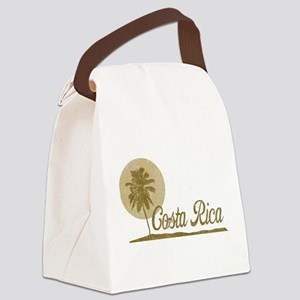 Palm Tree Costa Rica Canvas Lunch Bag
