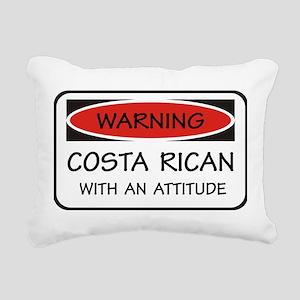 Attitude Costa Rican Rectangular Canvas Pillow