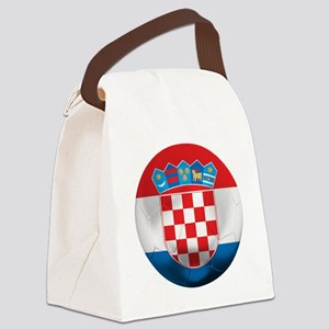 Croatia Football Canvas Lunch Bag