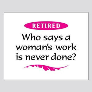retirement party ideas posters cafepress