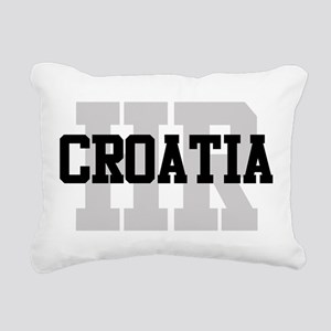 HR Croatia Rectangular Canvas Pillow