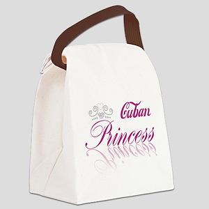 Cuban Princess Canvas Lunch Bag