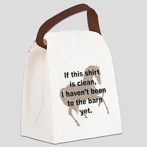 cutout horse Canvas Lunch Bag