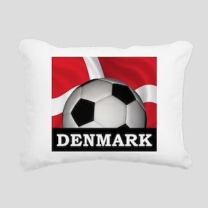 Denmark Football Rectangular Canvas Pillow