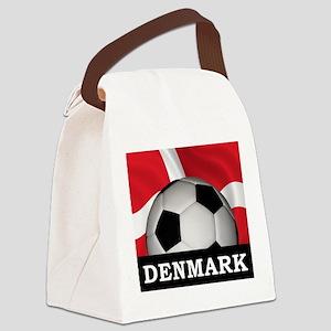 Denmark Football Canvas Lunch Bag