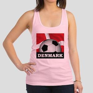 Denmark Football Racerback Tank Top