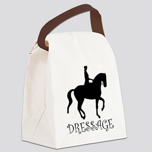 dressage curly singl Canvas Lunch Bag