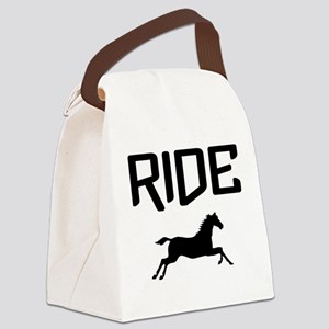 Ride...Horse Canvas Lunch Bag