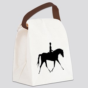 thin flat rider Canvas Lunch Bag