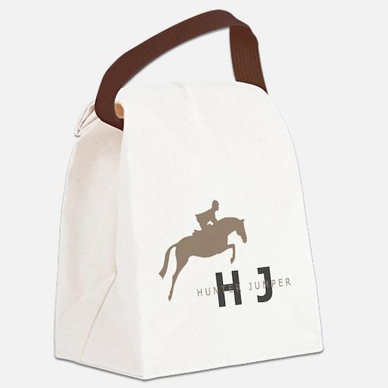 h/j horse Canvas Lunch Bag