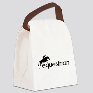 equestrian horse  Canvas Lunch Bag