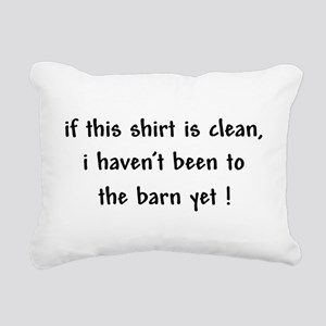 been to the barn Rectangular Canvas Pillow
