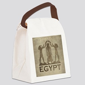 Vintage Egypt Canvas Lunch Bag