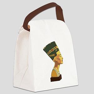 Nefertiti Canvas Lunch Bag