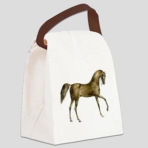 Vintage Horse Canvas Lunch Bag