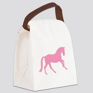 canter pink Canvas Lunch Bag