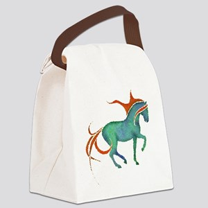 mosaic horse Canvas Lunch Bag