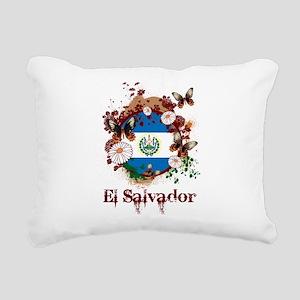 Butterfly El Salvador Rectangular Canvas Pillow